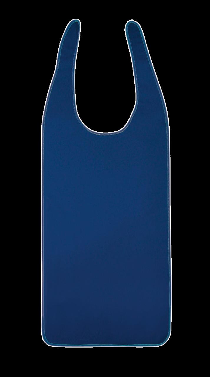 Ess-Schürze Polyurethan (PU) mit Schlaufenverschluss, marine