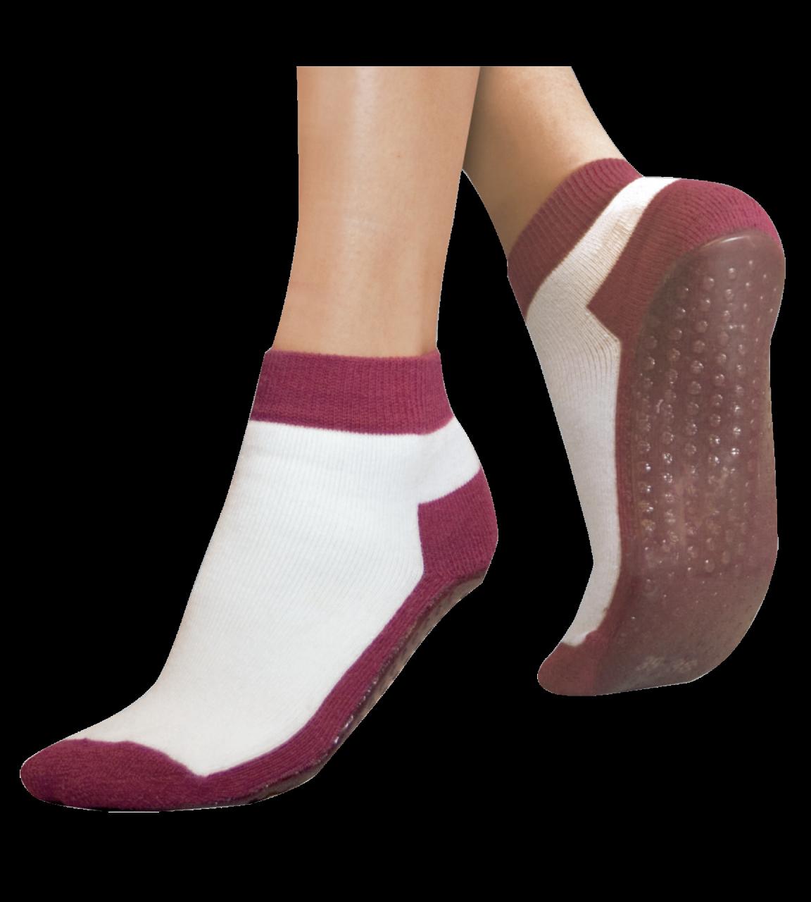 Anti-Rutsch-Socken mit gummierter Sohle